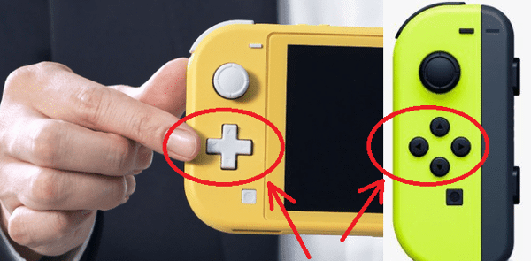 Nintendo Switch Lite D-Pad