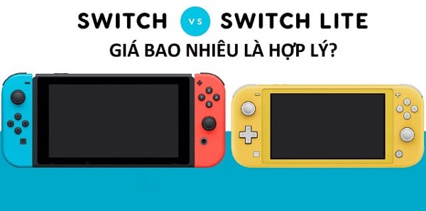 Nintendo Switch Lite giá bao nhiêu là hợp lý