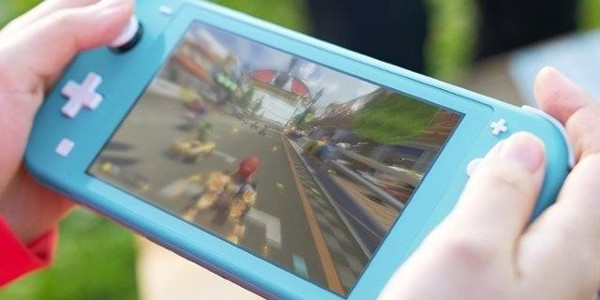 Nintendo Switch Lite Handheld Mode