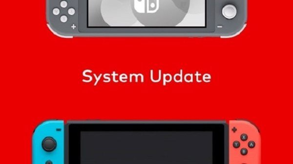 nintendo switch lite system update