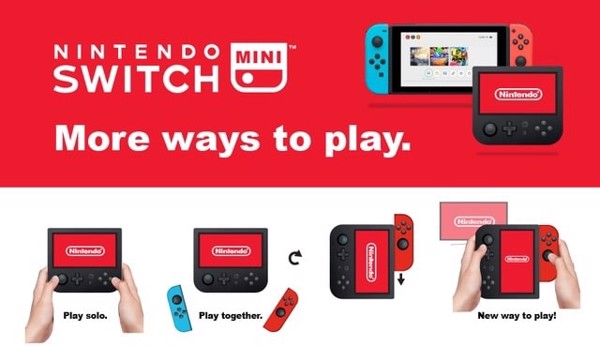 Nintendo Switch thiết kế GBA