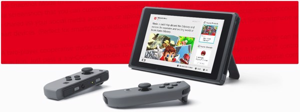 Nintendo Switch news feed nshop