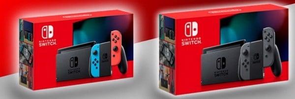 máy Nintendo Switch phiên bản hộp đỏ