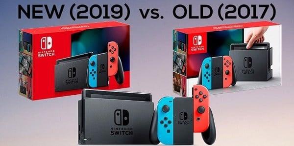 nintendo switch v2 va v1