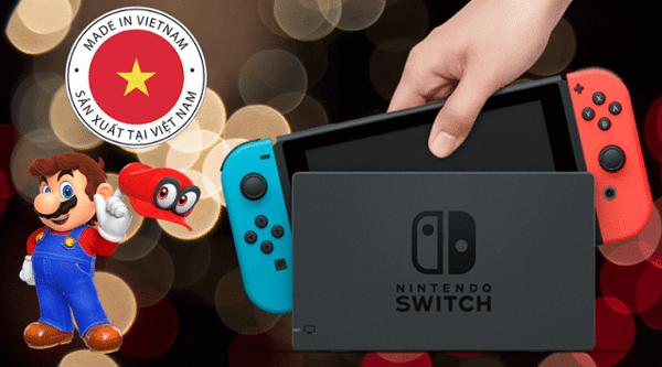 nintendo switch viet nam san xuat 2019