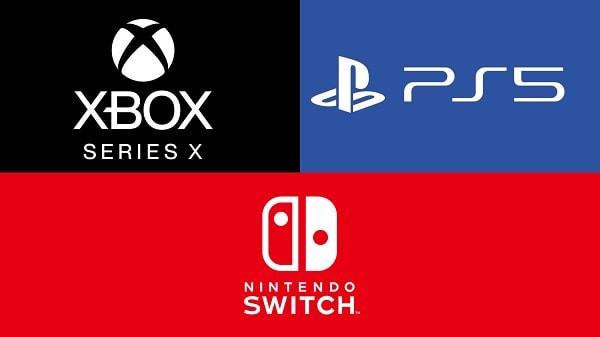 Nintendo Switch Xbox Series X PS5