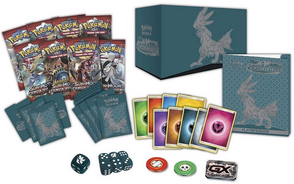 Crimson Invasion Elite Trainer Box Pokemon Trading Card Game