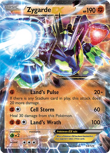 FATES COLLIDE BOOSTER PACK POKEMON TRADING CARD GAME  XY