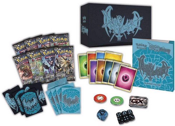 Ultra Prism Elite Trainer Box Dawn Wings Necrozma Pokémon TCG