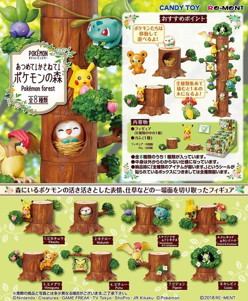 nShop bán Pokemon Forest Bulbasaur & Oddish