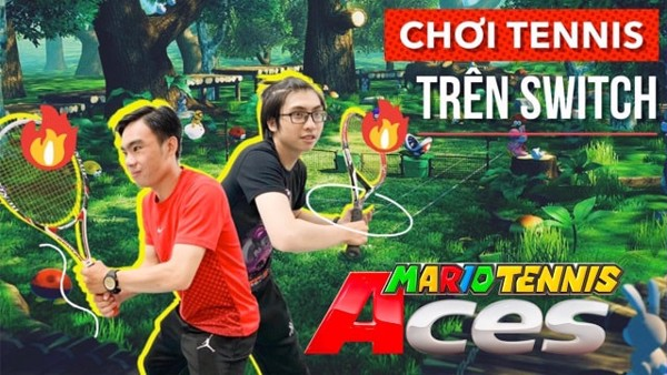 nshop choi game mario tenis aces nintendo switch