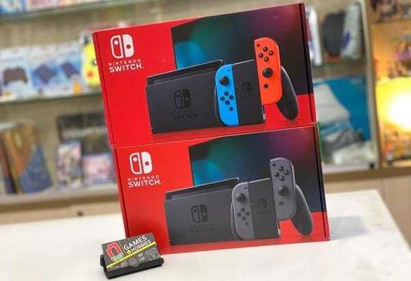nShop new Nintendo Switch 2019