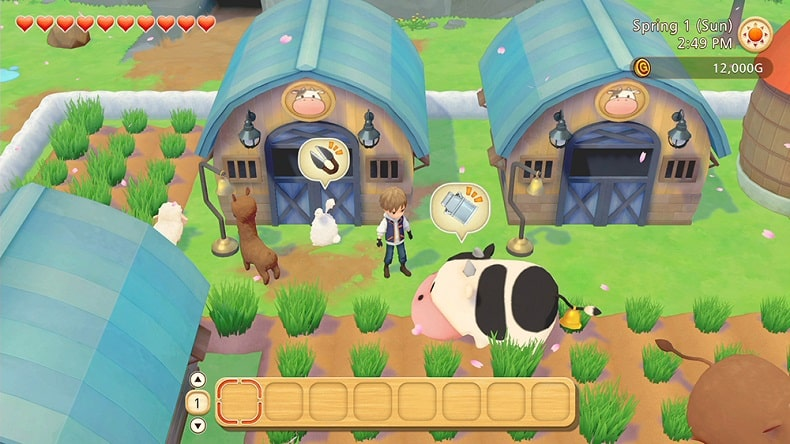 nshop review game Story of Seasons Pioneers Of Olive Town