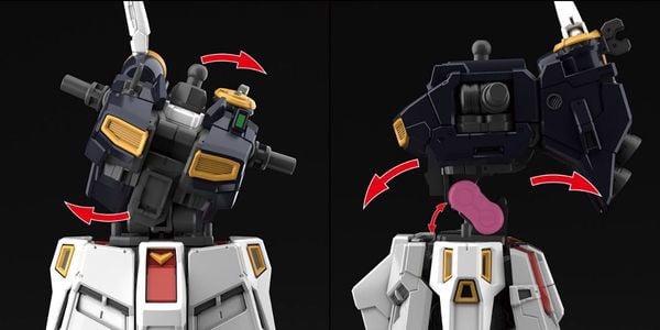 Nu Gundam RG gunpla bandai