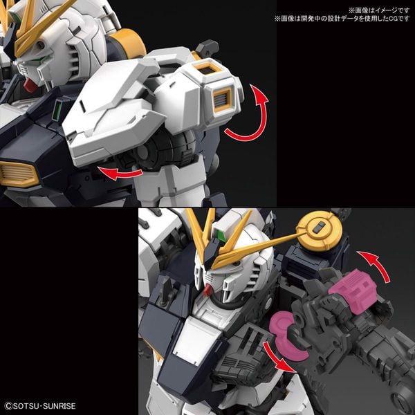 Nu Gundam RG gunpla tốt nhất