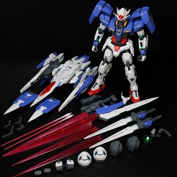 Shop Gundam HCM mô hình Gundam MG GN-0000 GNR-010 00 Raiser 00 Raiser chính hãng Bandai