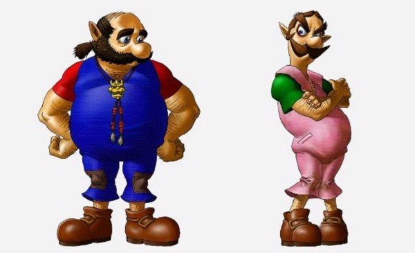 Ocarina of Time  N64 mario