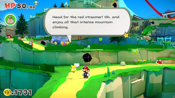 Olivia hướng dẫn Paper Mario The Origami King nintendo switch