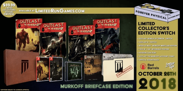 Outlast Murkoff Briefcase Edition