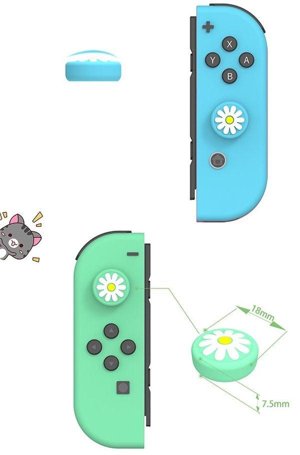 Cover Analog Joy-con IINE Animal Crossing Nintendo Switch Lite siêu đẹp