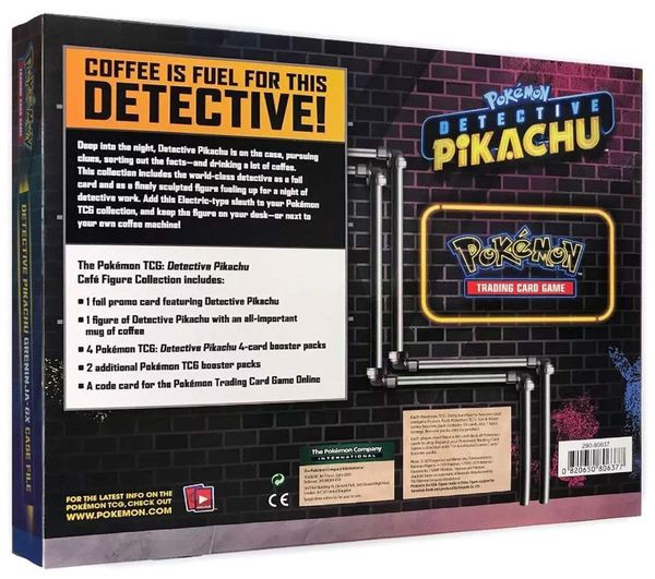 shop pokemon bán Thẻ bài Pokemon Detective Pikachu Café Figure Collection