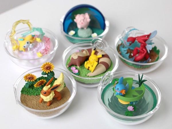 Shop Pokemon Center Mô hình Pokemon Terrarium Collection 8 Re-Ment giá rẻ