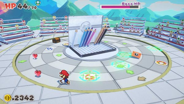 Paper Mario The Origami King boss
