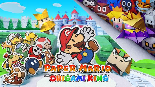 Paper Mario The Origami King nintendo switch công bố