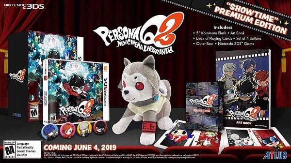 Persona Q2 New Cinema Labyrinth Showtime Premium Edition