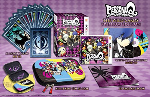 Persona Q Shadow Of The Labyrinth Wild Cards Premium Edition