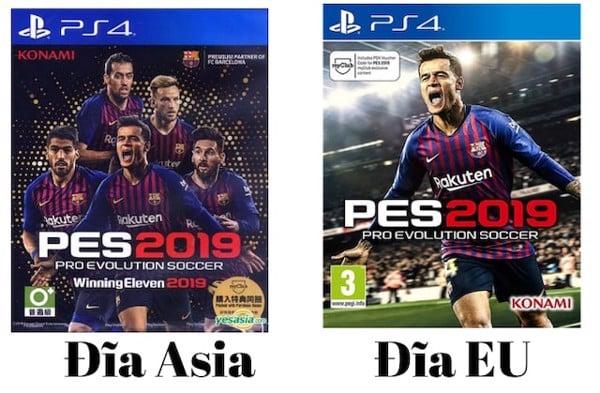 phân biệt đĩa PES EU và Asia