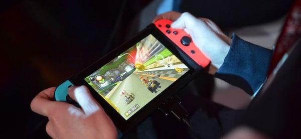 Phần cứng của Nintendo Switch mạnh mẽ
