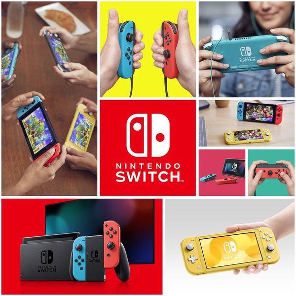 phần cứng nintendo switch