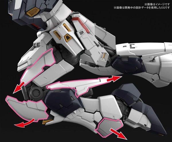 phụ kiện Nu Gundam RG gunpla