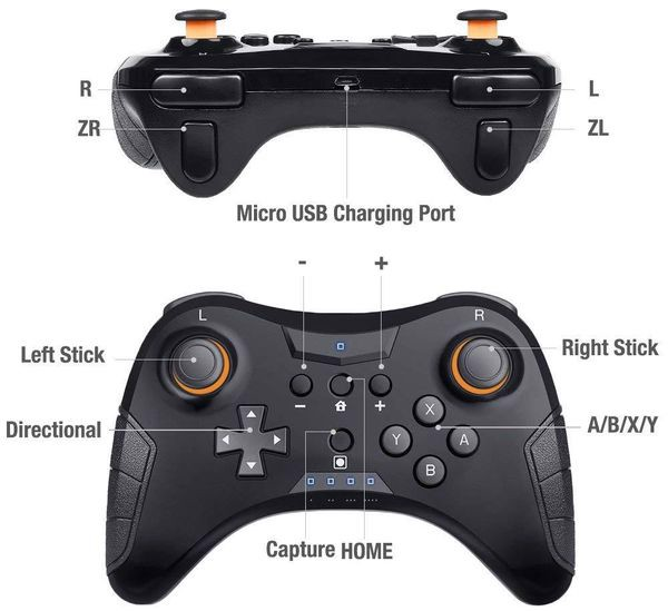 phụ kiện Pro Wireless Controller cho Nintendo Switch