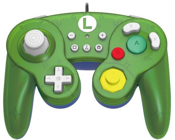 phụ kiện Tay HORI GameCube cho Nintendo Switch Luigi chính hãng