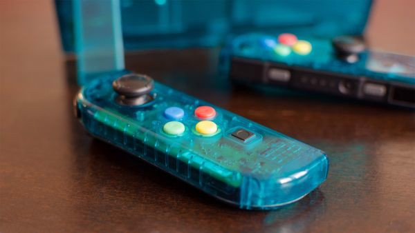 phụ kiện vỏ thay thế Joy con Nintendo Switch clear shell