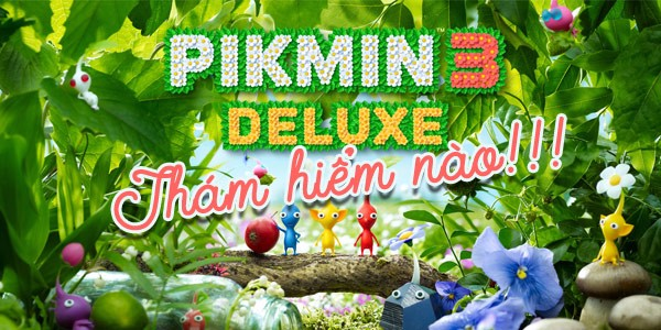 Pikmin 3 Deluxe Nintendo Switch tháng 10