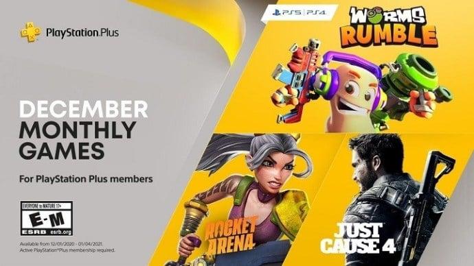 PlayStation Plus thang 12 2020