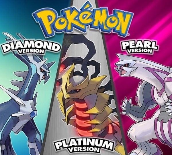 pokemon diamond pear platinum game hay nhat