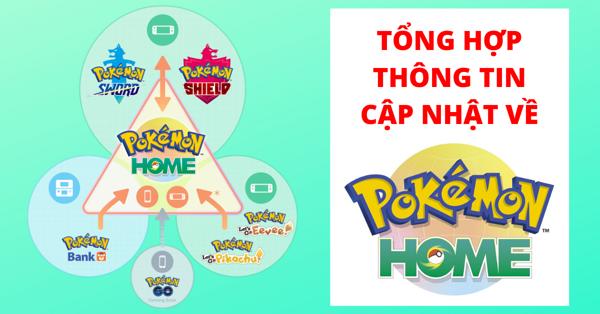 Pokemon Home là gì? Pokemon Bank là gì?