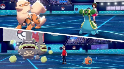 Casual Battle trong Pokemon Sword and Shield