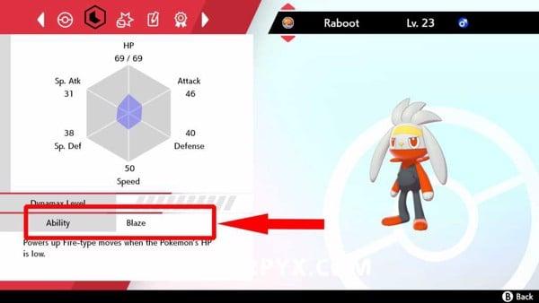 Ability của Pokemon trong Pokemon Sword & Shield