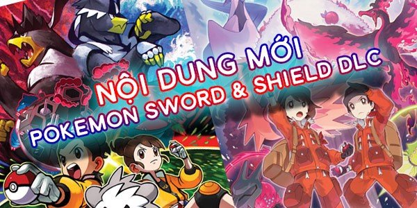 pokemon sword shield dlc mới
