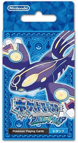 POKEMON ALPHA SAPPHIRE PLAYING CARDS