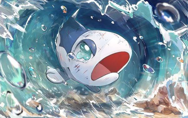 Pokemon Card Illustration GrandPrix Wishiwashi