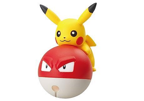 Pokemon Cord Keeper Tsunagete Pokemon 2 Pikachu Voltorb Biriridama