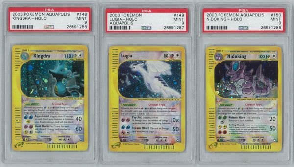 pokemon Crystal Cards
