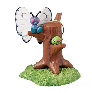 Pokemon Diorama Desktop Figure  Butterfree