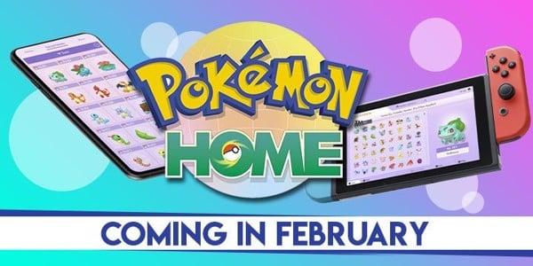Pokemon Home ra mắt vào Tháng 02 năm 2020